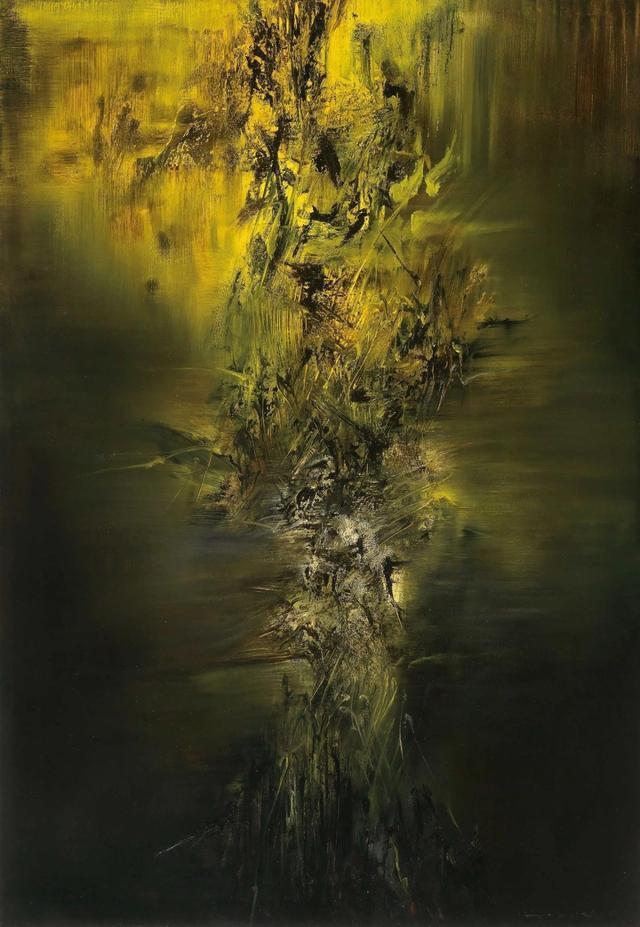 估价上亿,赵无极艺术生涯转折作品亮相佳士得拍卖