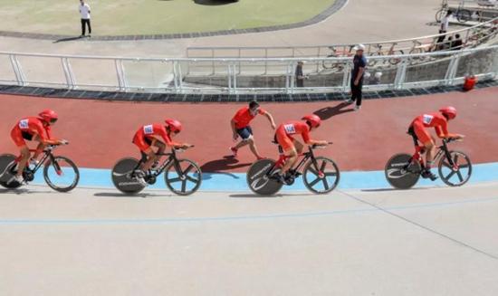 山东省青少年场地自行车锦标赛在日照举行