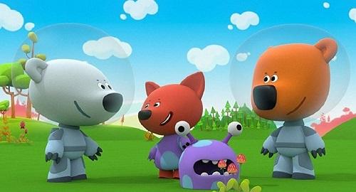 俄罗斯动画片《小小熊》(俄罗斯卫星网)