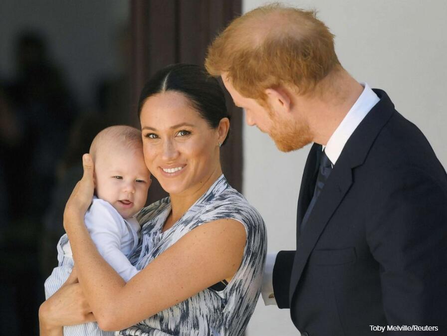 今年9月,哈里王子一家在南非 来源:路透社