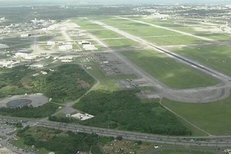 美军驻冲绳嘉手纳基地