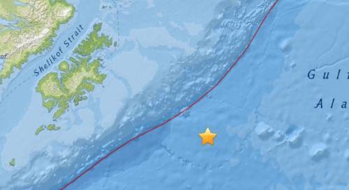 美国阿拉斯加南部海域5.5级地震 震源深度10公里