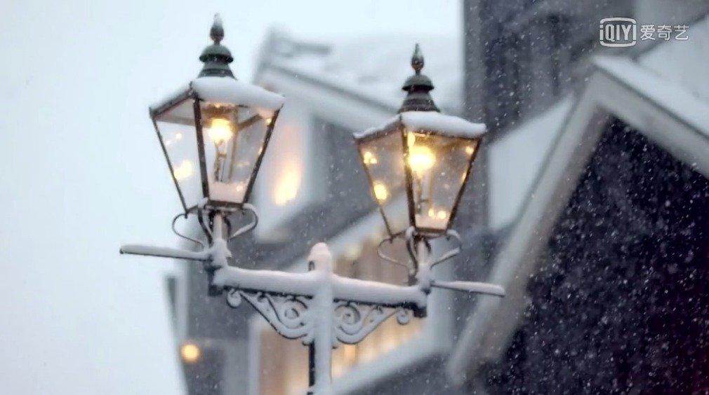 剧里的这段雪景真的太美了,宫崎骏千与千寻的灵感所在地