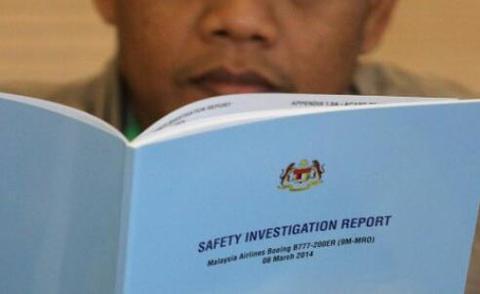 MH370报告:客机未被远程操纵 已确认3块残骸