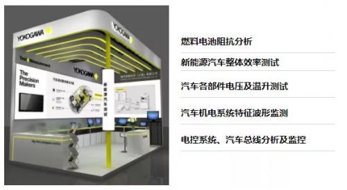 横河五大测试系统盛装亮相中国最大的整车与汽车零部件测试展览会