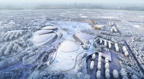 冰雪大世界四季冰雪项目 打造东北亚地区最具规模的冰雪旅游胜地