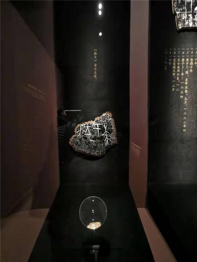 中国国家博物馆首次举办甲骨文文化展 从文字角度呈现中华文明博大精深