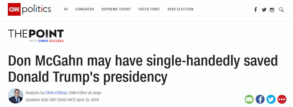 前白宫顾问或拯救特朗普总统生涯
