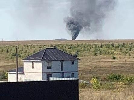 俄军一架米-8直升机在萨拉托夫州坠毁,目前伤亡不明