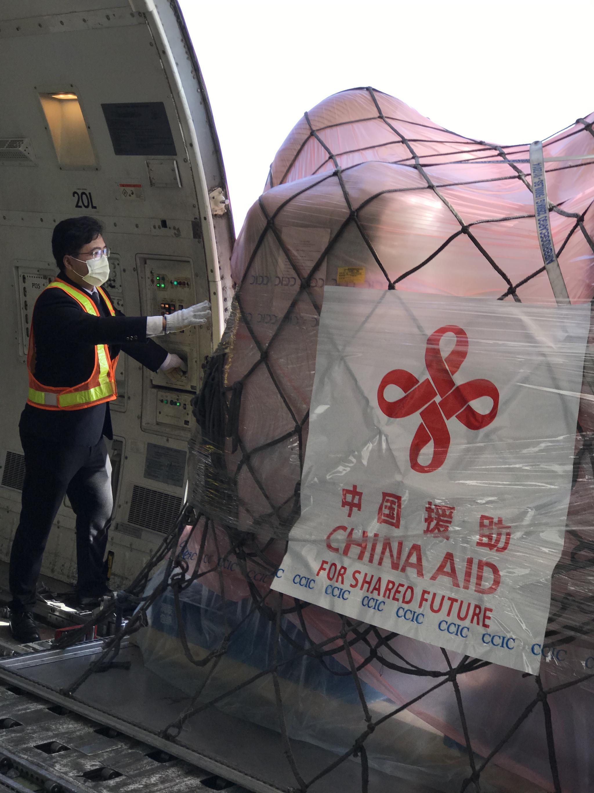 飛越喜馬拉雅山,東航輸送中國支援巴基斯坦抗蝗抗疫物質圖片
