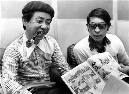 藤子·F·不二雄(左),安孫子素雄(右)