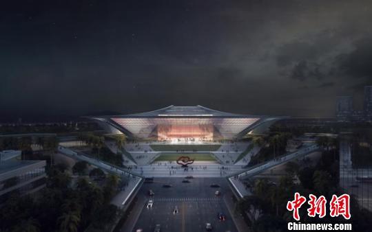 投资约35亿元 国际金融论坛永久会址建筑方案揭开面纱