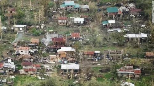 """""""山竹""""过后,菲律宾损失严重。"""