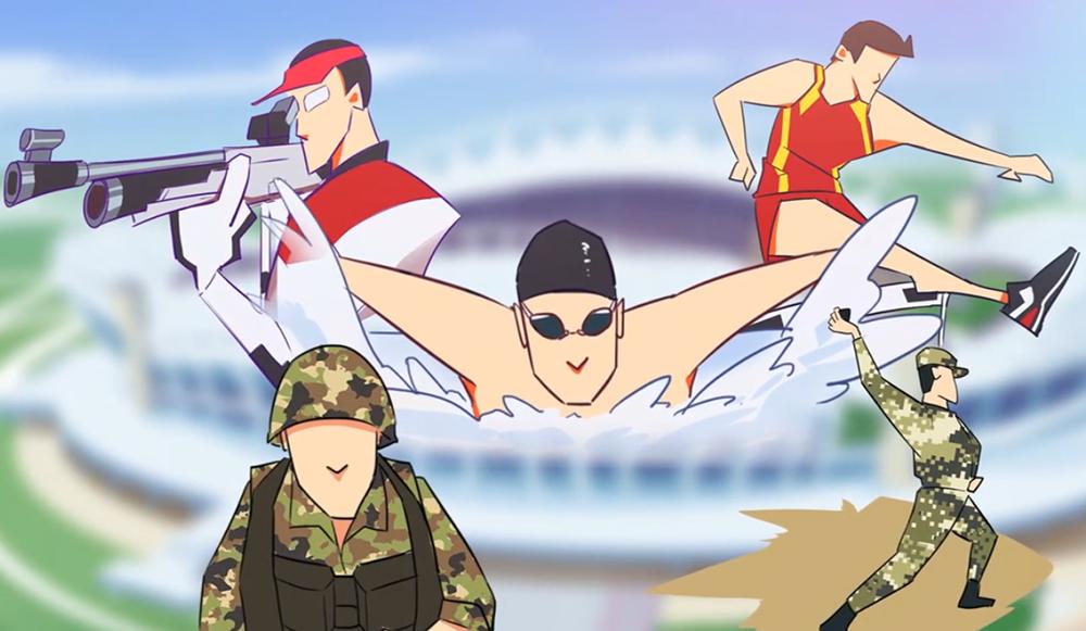 军运会——诠释中国维护世界和平的决心