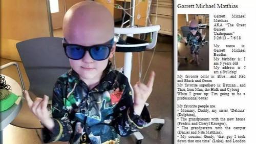 癌症成西欧儿童最大抵死病因