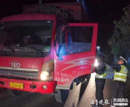 无证驾驶报废车肇事后逃逸,胆大男子被聊城交警查处