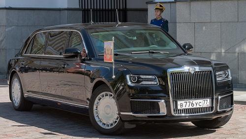 俄罗斯总统普京的新专车7日出现在莫斯科(路透社)
