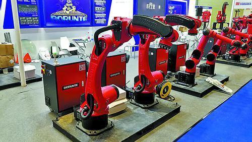 江门14个项目获机器人应用扶持资金