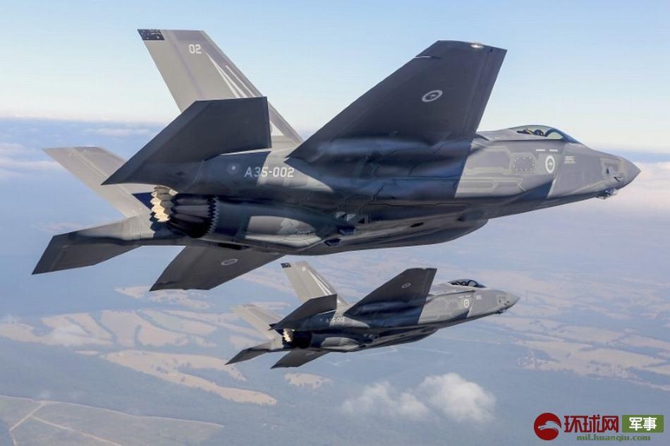 澳大利亚空军到货的F-35A战斗机