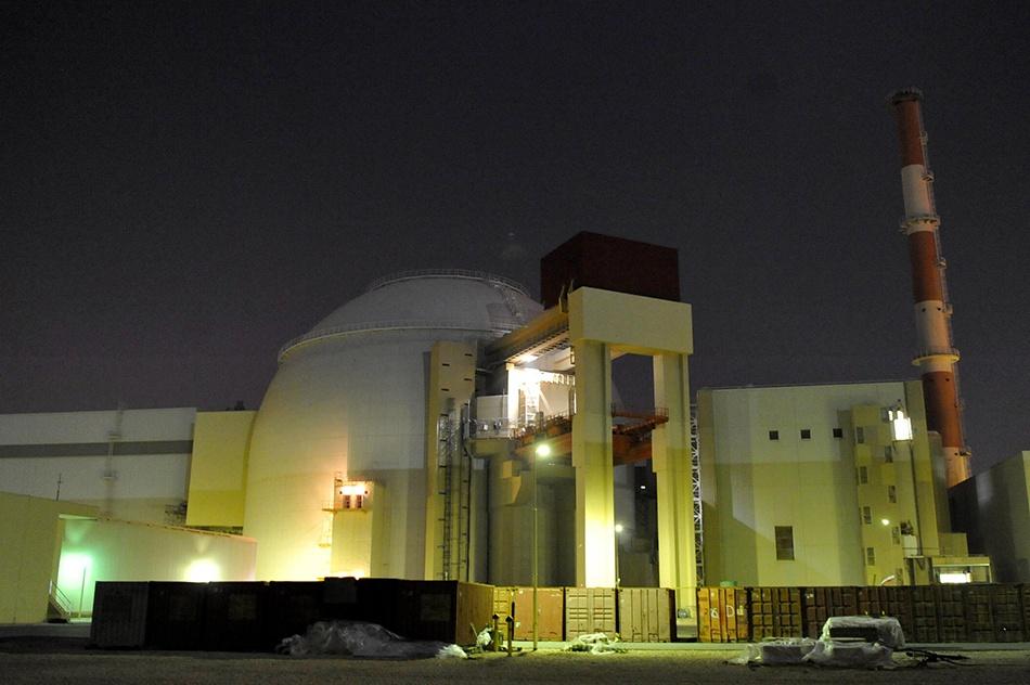 位于伊朗德黑兰以南755英里处的布什尔核电厂。 视觉中国 资料图