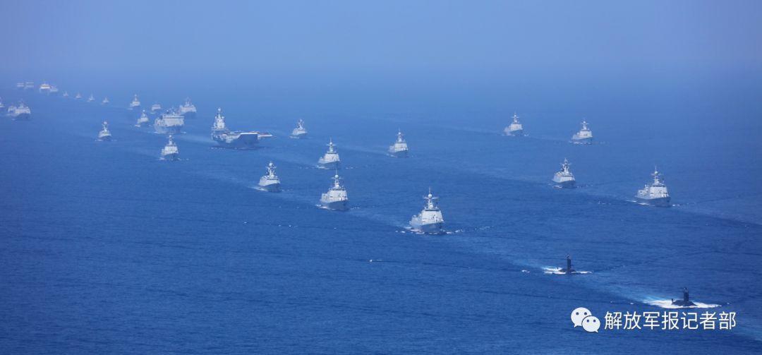 盘点五次海上阅兵舰艇更替 中国海军获跨越式发展尊老爱幼的故事