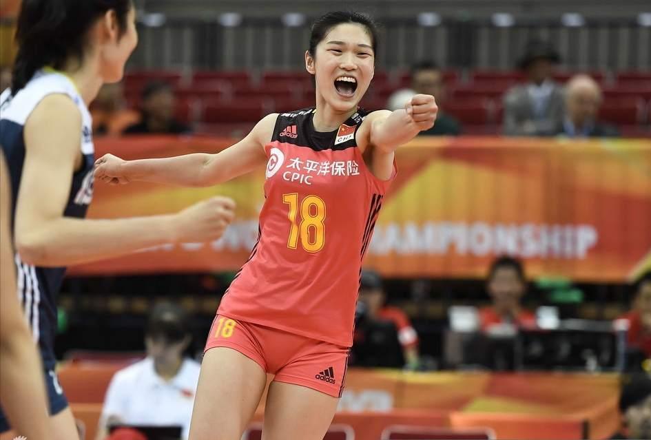 中国女排3-1战胜荷兰队 小组第1挺进半决赛