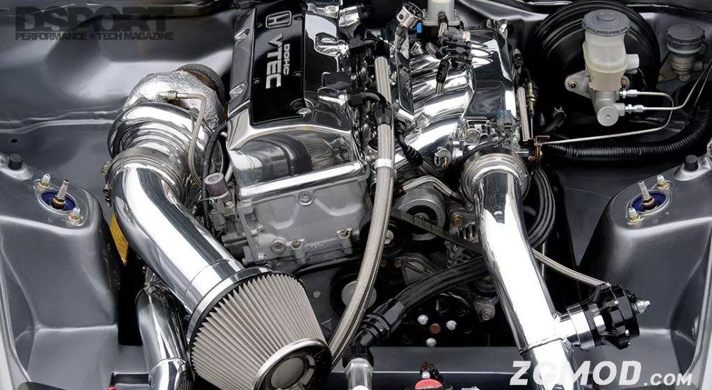 不显山不露水 这台本田S2000改装车轮上马力竟然600+