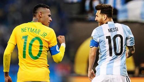梅西和内马尔干着同样的事。