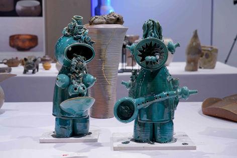 第三届上海国际陶瓷柴烧艺术展亮相宝库文化中心
