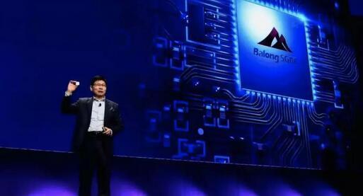 华为在MWC上展示5G商用芯片巴龙Balong 5G01
