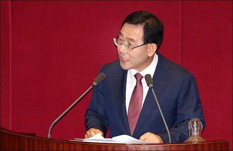 自由韩国党议员朱豪英