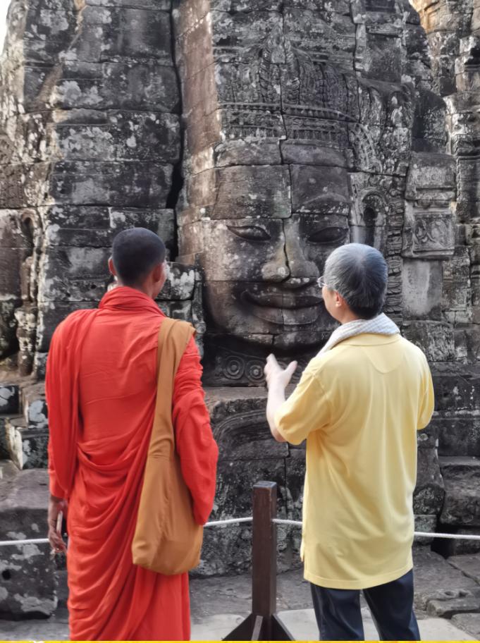 文化圈丨莫高窟与吴哥窟横跨万里的千年之约