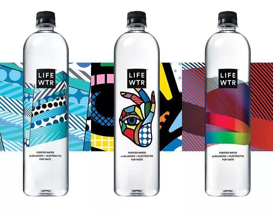 """把水瓶当画布?看看这些包装设计界的""""水中贵族""""!"""