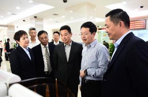 辽宁省副省长张立林到盛京银行调研
