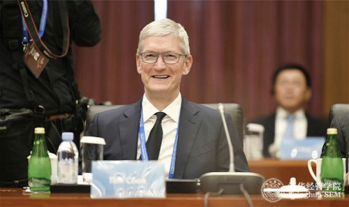 苹果CEO蒂姆·库克担任清华经管学院顾问委员会主席
