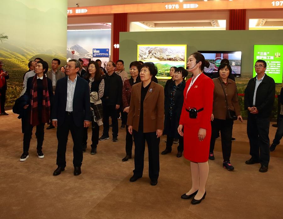 审计署组织参观庆祝中华人民共和国成立70周年大型成就展