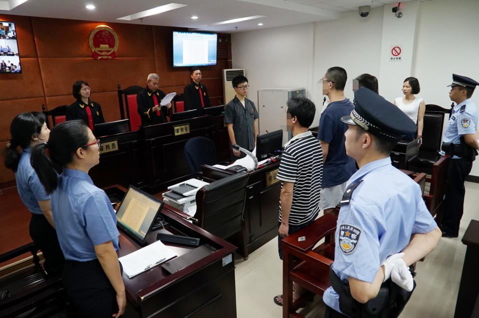 新会法院公开宣判一起涉恶案 3人因开设赌场获刑
