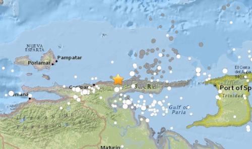 委内瑞拉近海7.3级强震:首都震感强烈 多人受伤