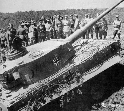 二战中盟军的噩梦,德军装甲师虎式坦克