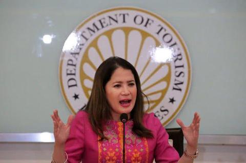 资料图:菲律宾新任旅游部长布悦