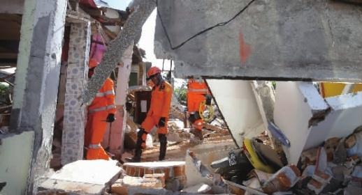 印尼龙目岛地震已至105人死亡