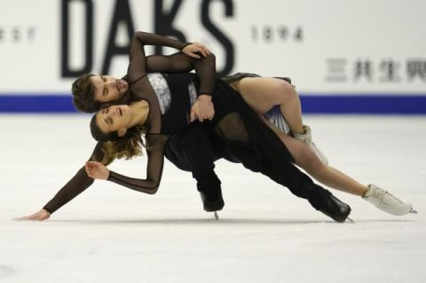 观赛 | 花样滑冰大奖赛日本站:法国组合帕帕扎基斯/西泽龙夺得冰舞冠军
