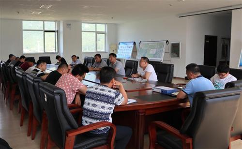 市水务局组织输水工程各参建单位召开安全工作
