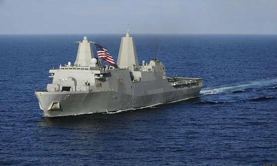 美国军舰资料图片