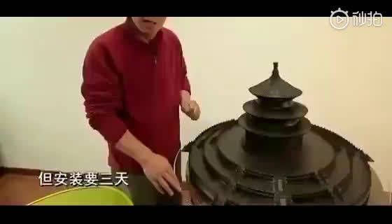 祖宗技艺不能丢!历时五年全手工榫卯结构微缩天坛!