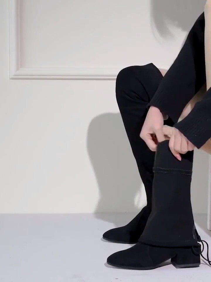 拉夏贝尔弹力靴