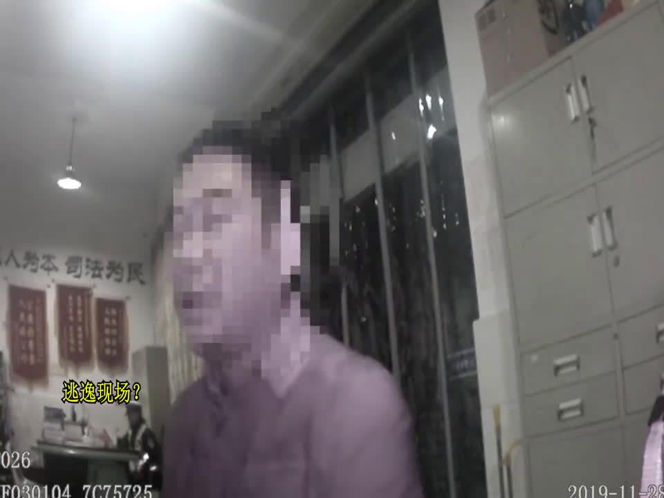 男子醉驾肇事逃逸后编故事骗交警