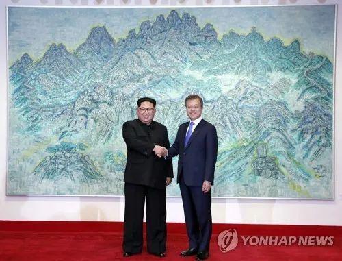 ▲4月27日朝韩首脑会晤