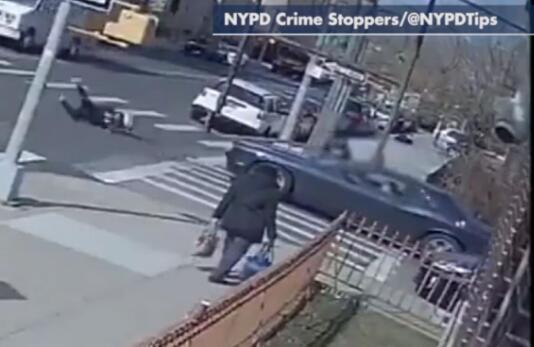 事故现场图(图源:纽约警察局)