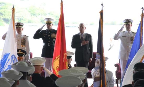 美军太平洋司令部更名为印太司令部。(图源:AFP)